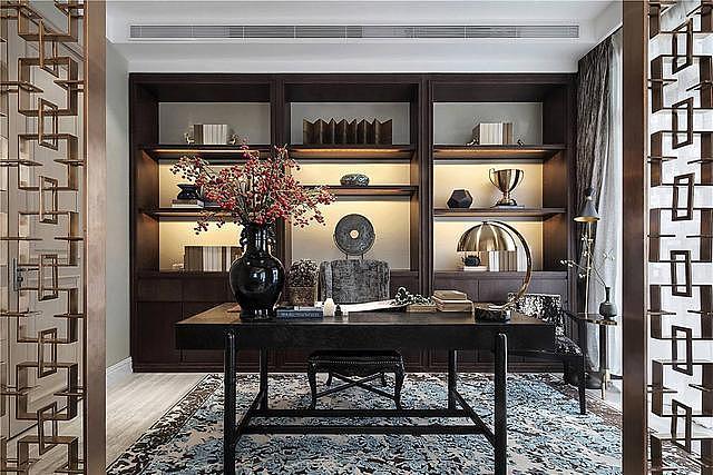 家居书房装修设计 如何才能比较节省空间