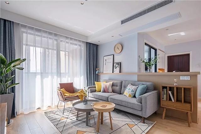 98㎡三室两厅北欧风改造 打造不一样的家居生活