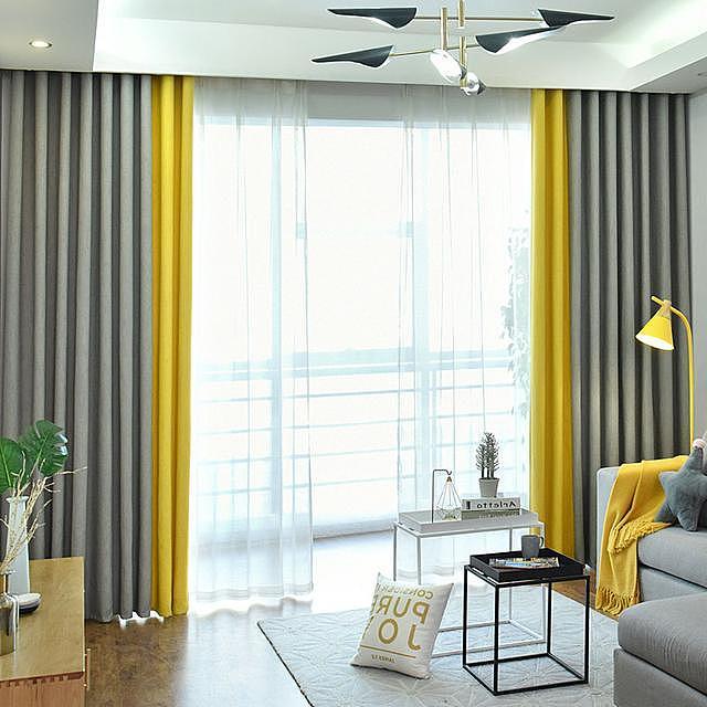 室内窗帘选纯色还是花色好 来看看这些是否有你喜欢的