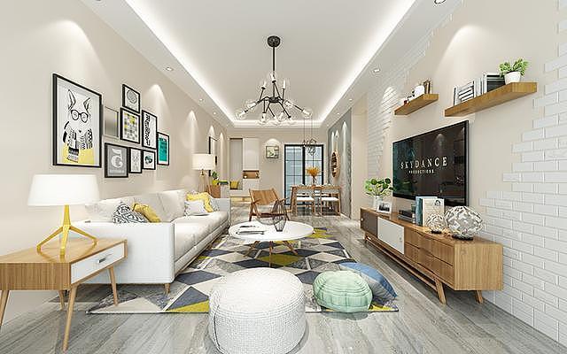 客厅颜色这样装修设计搭配 你喜欢哪一款呢
