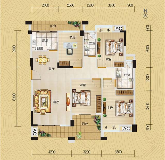 房屋装修你能看懂户型图吗 户型图这样看就能看明白