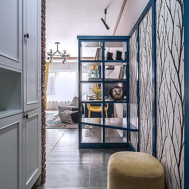 112㎡旧房装修改造设计 打造简约清新的家居新生活
