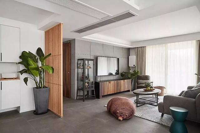 127㎡三居室现代简约风格案例 打造一个舒适轻松的家