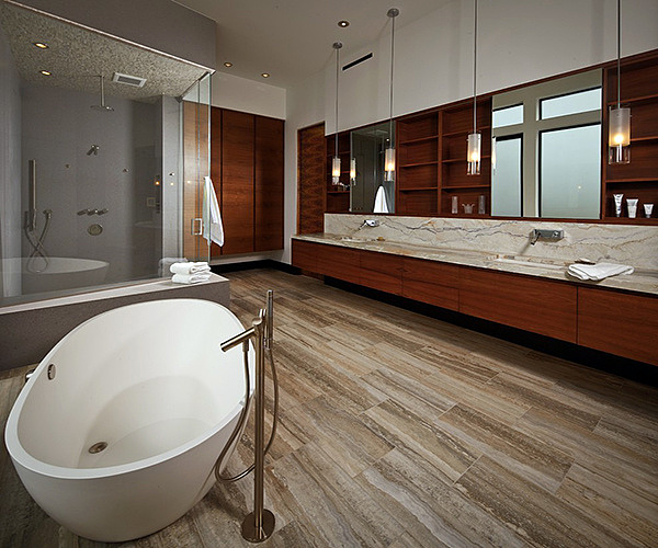 卫生间可以铺木地板吗 防水木地板了解一下