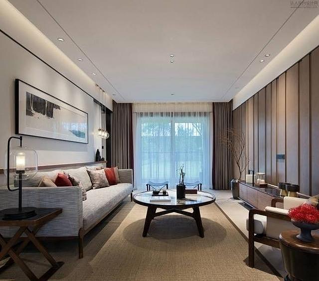 122㎡新中式两居 打造端庄古典新家