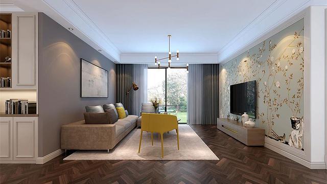 112㎡旧房装修翻新改造设计 打造时尚简约的美式风家装