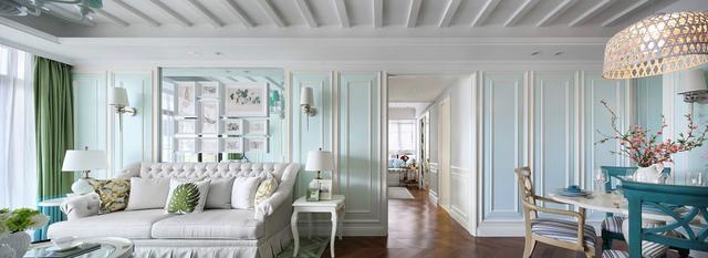 典雅精致的浅色简欧装修 美得像艺术品