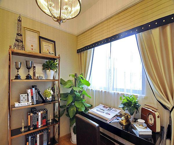 书房装修配什么样的窗帘 书房窗帘什么颜色好