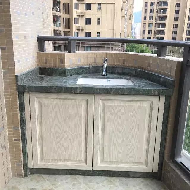 阳台洗衣池装修有哪些讲究 一起来看看吧!