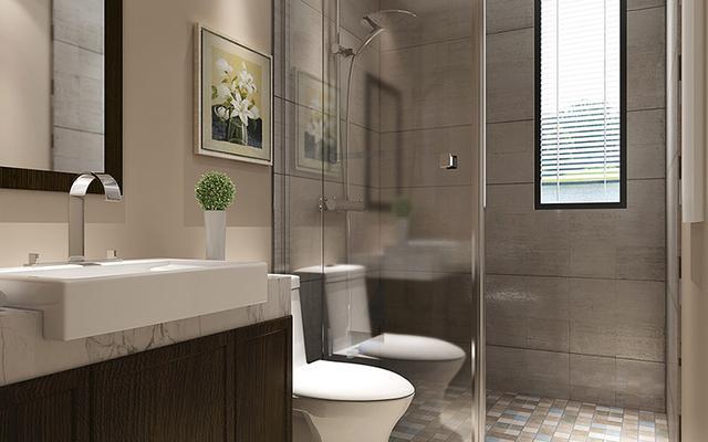 卫生间干湿分离装修设计 这装修风格那个时候你的