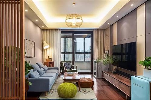 89㎡新房轻松惬意空间设计 打造现代简约风格家居