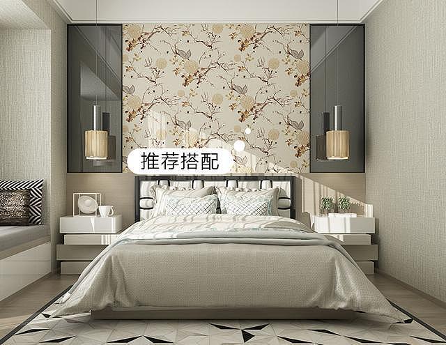 卧室背景墙颜色怎么选择?这么搭配就好!