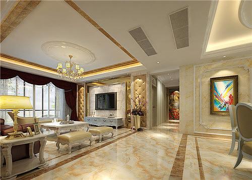 客厅地砖设计效果图 客厅地砖怎么贴好看