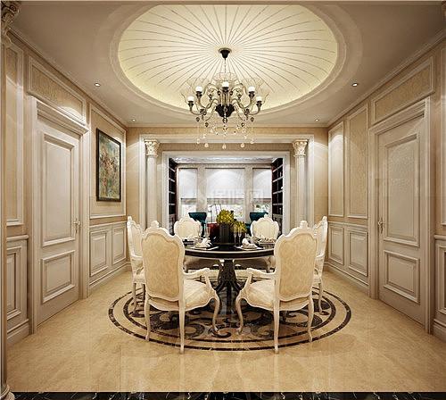 最新90平米欧式风格装修案例 带您领略轻奢浪漫别致家