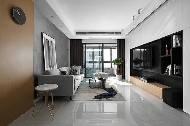 黑白灰简约风格装修 高品质的家居设计