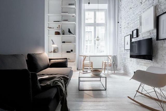 简约北欧风一居室 充满文艺气息的小公寓