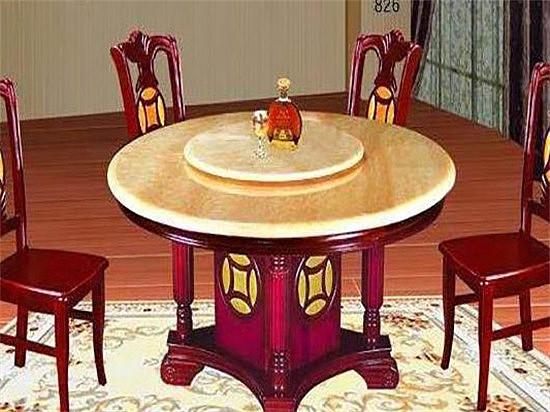 可折叠圆餐桌图欣赏 打造一个与众不同的用餐氛围