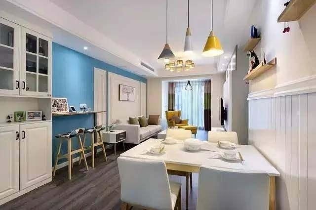 89平小户型三居室做地中海风格也别有一番生活滋味