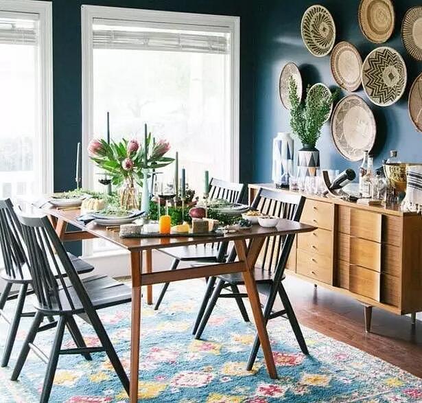 4款不同风格的餐厅 把你喜欢的元素带回家