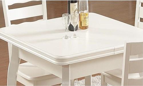 白色餐桌好吗 白色餐桌椅子该如何搭配