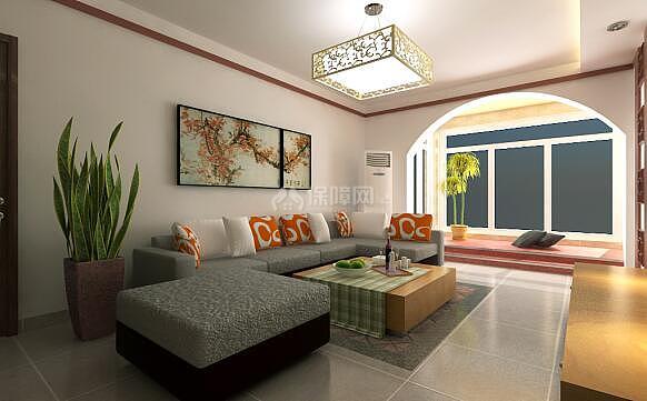 北向客厅装修颜色怎么搭配 不同朝向客厅选择不同颜色图片