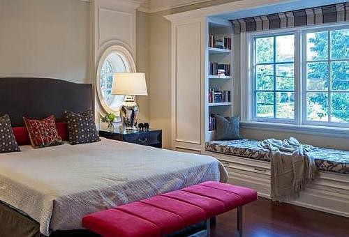 卧室窗户装修效果图赏析 这样打造卧室既温馨又舒适