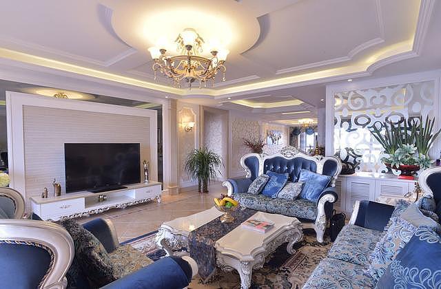 190平欧式装修风格 这样的别墅设计超赞的!