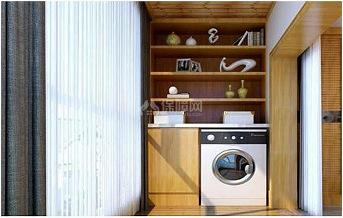 洗衣机图纸机柜装修效果图感受精美的洗衣柜子设计cad用中A3画怎样阳台自图片