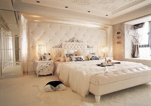卧室简欧装修效果图赏析 为你营造舒适的睡眠环境