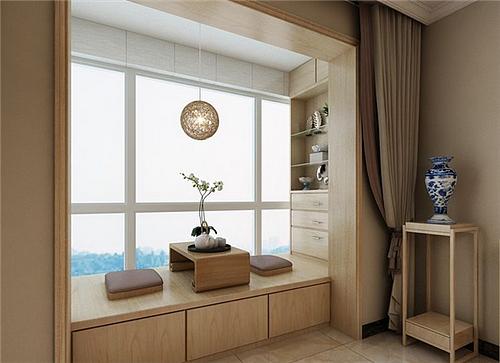阳台储物柜装修效果图 将你家小阳台变大2平米