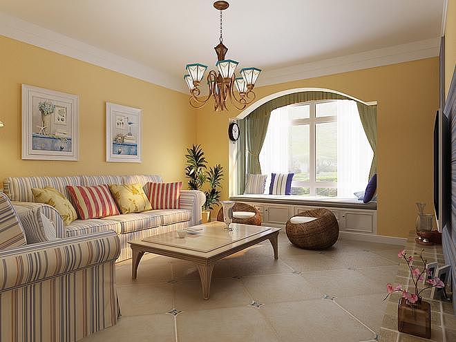 16万装修出131平米三居室地中海风格!