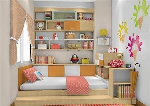 家庭装修小户型儿童房装修小妙招