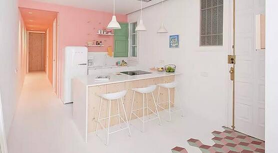 糖果色上墙 让你的家甜蜜起来