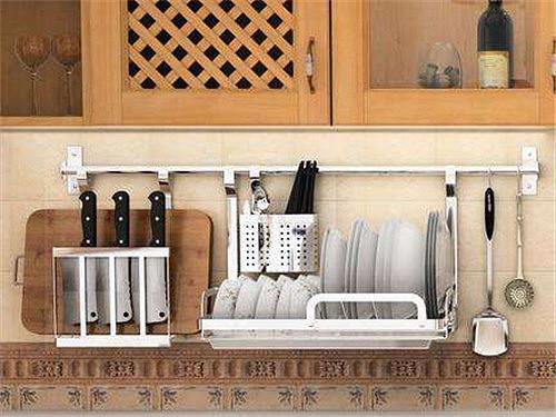 厨房收纳架有哪些类型 厨房收纳有什么技巧