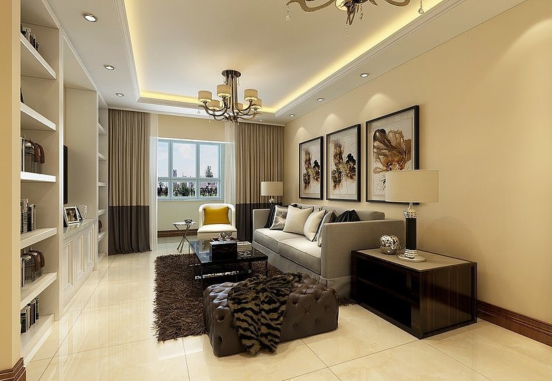 110平米的现代简约风格 原来三居室还可以这样装修!