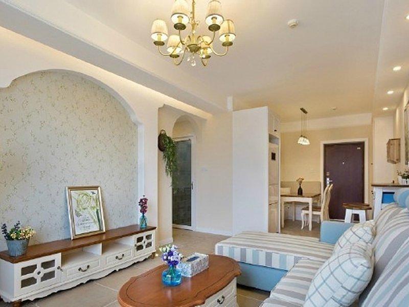 花6万元装修的地中海风格 89平米二居室太赞了!