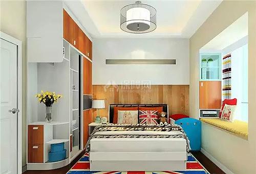 主卧飘窗v空间效果图让室内储物空间更强大水电家装气安装设计图图片