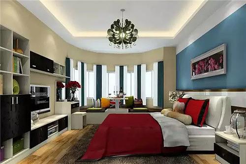 主卧飘窗v空间效果图让室内储物空间更强大中冶南方建筑设计院面积图片
