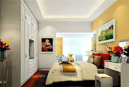 主卧飘窗v空间效果图让室内储物空间更强大用ps绘制线条图片