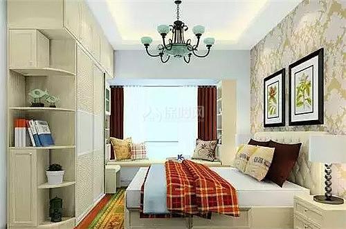 主卧飘窗设计效果图让室内储物信息更强大即墨室内设计师招聘空间图片