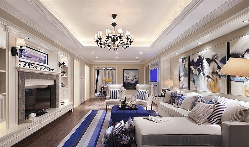 139平米的房子装修只花了18万 美式风格让人眼前一亮!