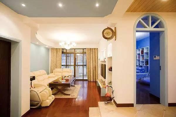 100㎡两室二厅地中海风格 不仅仅是好看那么简单!