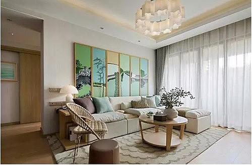 80多平米房子简约装修效果图 打造简约温馨的住宅空间