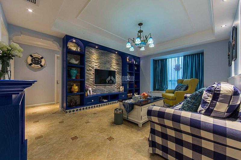 90平米地中海风格三居室 预算15万