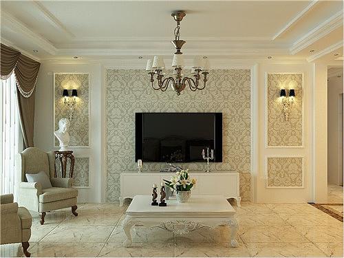 欧式背景墙设计搭配原则 细数欧式背景墙三大风格特点