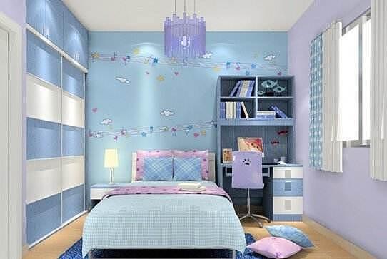 小户型儿童房装修效果图 5款唯美浪漫的儿童房设计