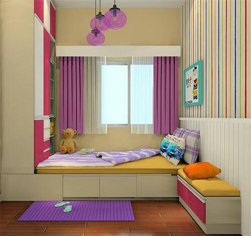 7平米小卧室怎么设计 小卧室装修的注意事项图片