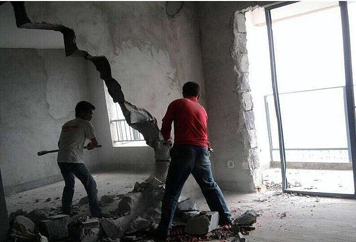 砸墙多少钱一平 砸墙不仅是钱的问题