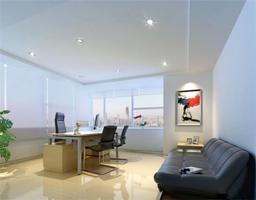 办公室装修效果图大全 简洁大气的办公室设计案例
