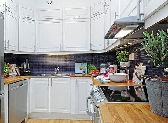 北欧风格厨房装修案例 看着就心动